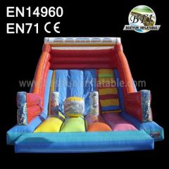 Rampa Spiderman High Quality Inflatable Water Slide