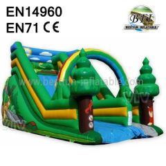 Best Commercial Inflatable Tree Slide