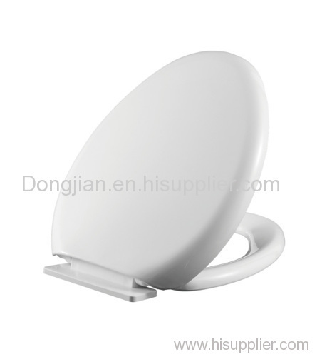 heated white Toilet Seat Cover with soft close toilet seat hinges