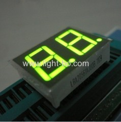 "Dual digit 0.56"" common anode super bright green seven segment led numeric disdplays"