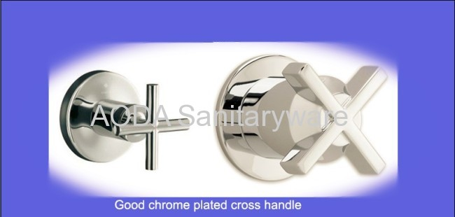 UK style double handle faucet mixer tap