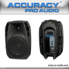 "15"" 2 Way Bluetooth DJ Speaker with MP5 Function PMQ15AUQ-MP5-BT"