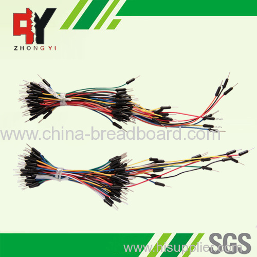 solderless breadboard male to male jumper wire