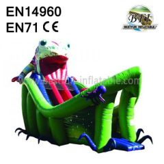 New Inflatables Playground Bufonid Bouncy Slide