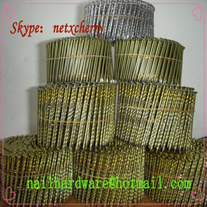 electro galvanized pallet coil nails