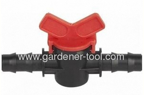 plastic micro irrigation valve with specification 25MM X 25MM