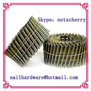 Wire pallet coil nails supply
