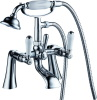 UK style double handle bath shower faucet mixer tap