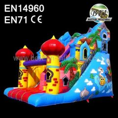 Inflatable Slides And Bouncers