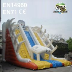 Outdoor Big Adult Inflatable Slide