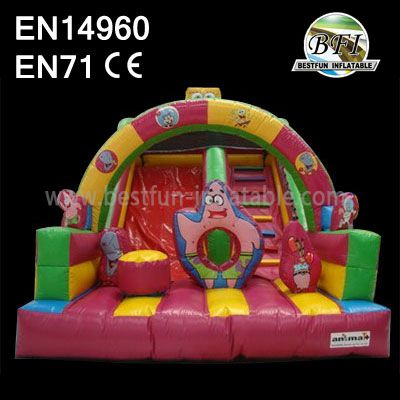 Wholesale Inflatable Spongebob Slide