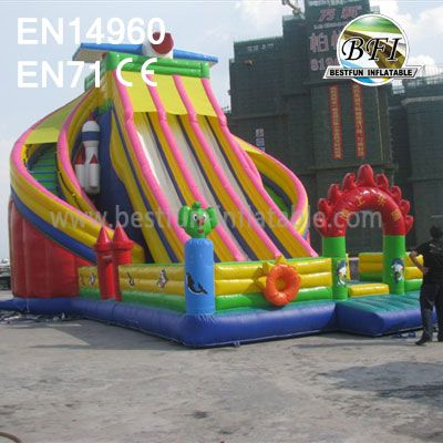 Big Inflatable Slide Amusement Park