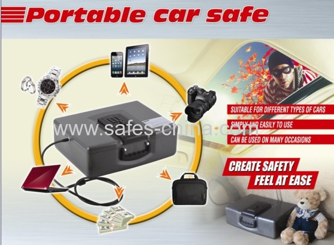 Yosec car safe with electronic lock