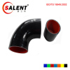 High temperature resistant, high pressure 90 degree / 45 deg black Reducer Elbow silicon hose 63-57mm