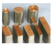ISO9001 Acessed by BV titanium clad copper for Hydrometallurgy