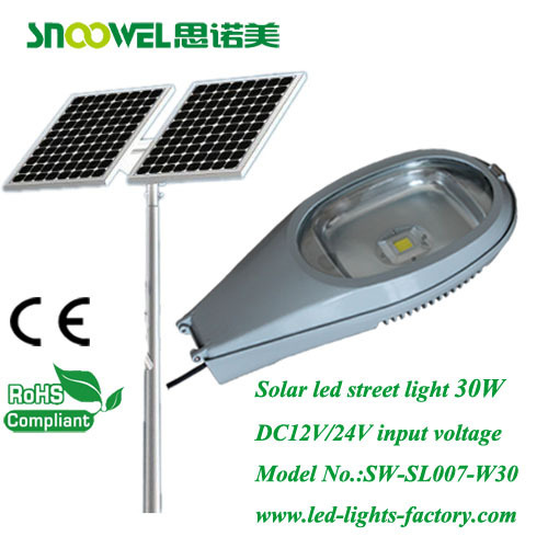 Newly designed 30w DC12V led street light with CE RoHS