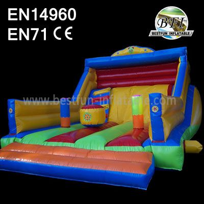 Backyard Inflatables Slide Moonwalk