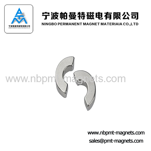 Super Strong Permanent Neodymium Magnet in Arc / Segment Shapes