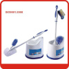 New popular toilet brush with holder Paper tag with color label Package