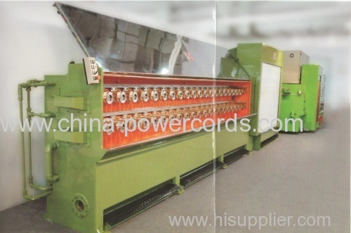 Multiwire Drawing Machine with continuous Annealer (16 wires )