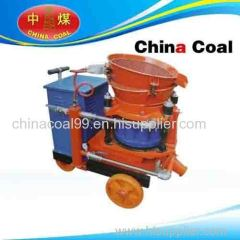 Cement shotcrete guniting machine