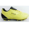 Good Selling Yellow/Black Customized Outdoor Soccer Cleats For Men/Women/Children