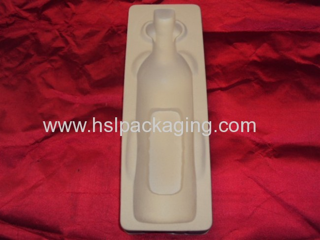 Electronic flocking blister tray packing