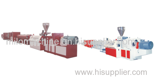 BXGC series PVC pipe production line