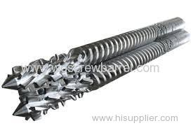 professional twin parallel screw barrel