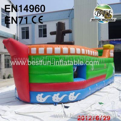 Happy Inflatable toy like a great ship