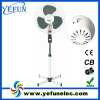 100% copper wire 16inch electric stand fan