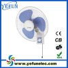 AC220V 16inch wall mounted fan with pp material