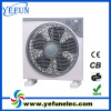 12 inch electric box fan with 5 PP blade