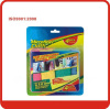 Blue red green yellow 30*40cm microfiber cloth Towel set with Blister+colorful paper box