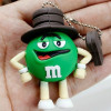 Eco-friendly material soft pvc cartoon figure Gift usb flash drive
