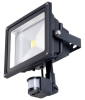 30-50W IP65 COB LED Floodlight with PIR Sensor Detector