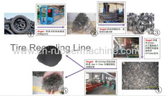Used/Waste Tire Recycling Machine