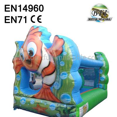 Inflatable Lovely Fish Castles