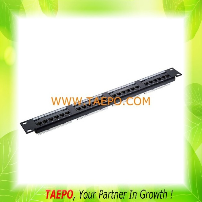 191U CAT5E UTP 24-port and 48-port patch panel