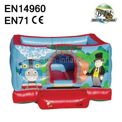 Happy Mini Thomas trainInflatableBouncer Castle