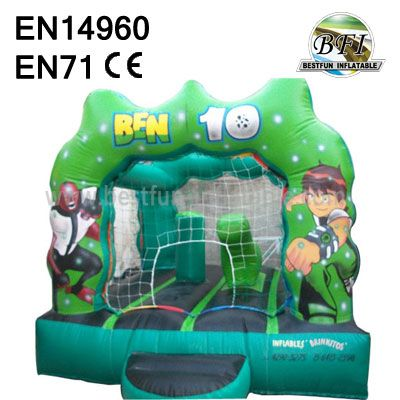 Attracting Ben 10 Inflatable Castle For Kids