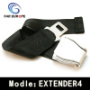 Airplane seat belt extender
