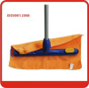 Metal-holder rubber curved floor squeegee with EVA insert with Color card