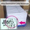 Minrui Ultra Destructible Vinyl Sticker Materials in Sheets for Offset Printing