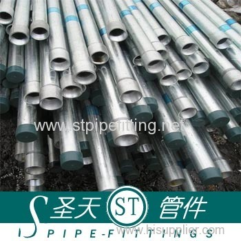 Hot DIP Galvanized Steel Pipe Zinc Coating 220G/M2