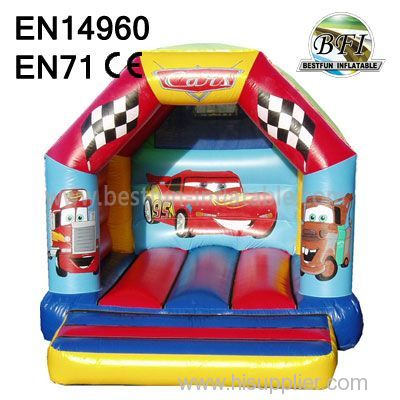 Inflatable Car Bouncer Castle high quality