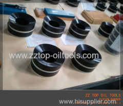 150 mm piston assy for F1600 HL mud pump