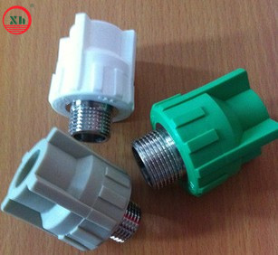 PPR fittings PPR male coupling from China
