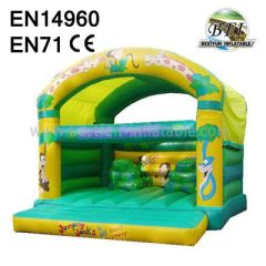Outdoor Forest Inflatable Bouncers For Kids