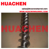 Screw barrel screw for slica gel rubber products